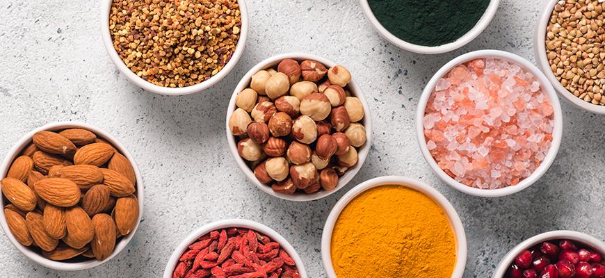 Propiedades, beneficios y usos de los Superfoods